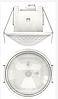 Датчик движения Theben theMova S360 KNX DE WH, потолочный, белый, th 1039560