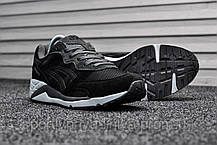 Мужские кроссовки Asics Gel Lyte Lique Black Gray White (Реплика), фото 3
