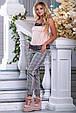 Красивая женская стильная майка-топ 2686 персик, фото 3