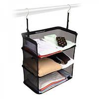 Подвесной органайзер для путешествий для туалетных дорожных принадлежностей Shelves to Go