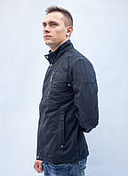 Куртка парка ветровка мужская батал большая осенняя весенняя демисезонная катоновая спортивная классика