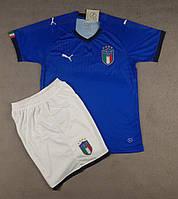 Футбольная форма национальной сборной Италия синий  сезон 2018, фото 1