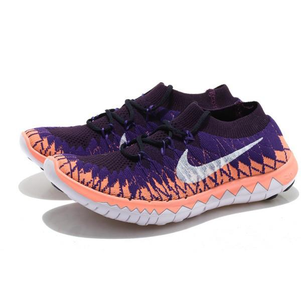 3ef3b430 Купить Nike Free Run 3.0 flyknit 'Orange / white / dark' в интернет ...