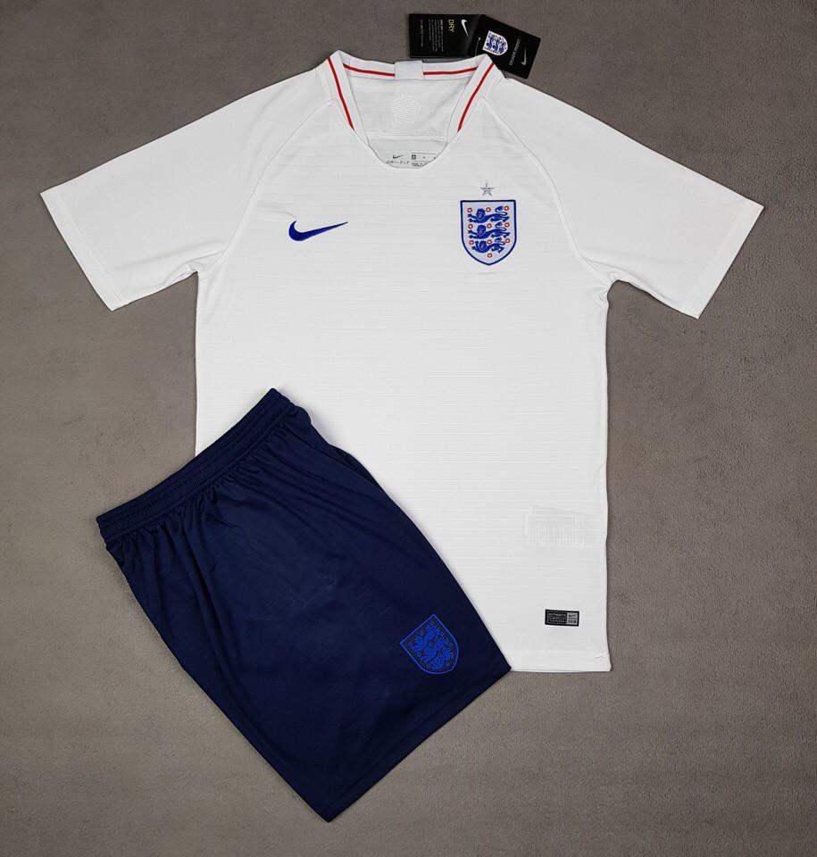 Футбольная форма национальной сборной Англия белый  сезон 2018
