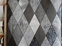Обои Регби 5586-10,виниловые, супермойка,в рулоне 5 полос по 3 метра,ширина 0.53 м