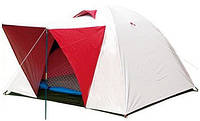 Палатка 3-х местная универсальная SY-014 c тентом и тамбуром (200x200x135 см, PL)
