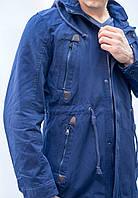 Мужская парка куртка бомбер молодежная катон длинная спортивная осенняя весенняя катон