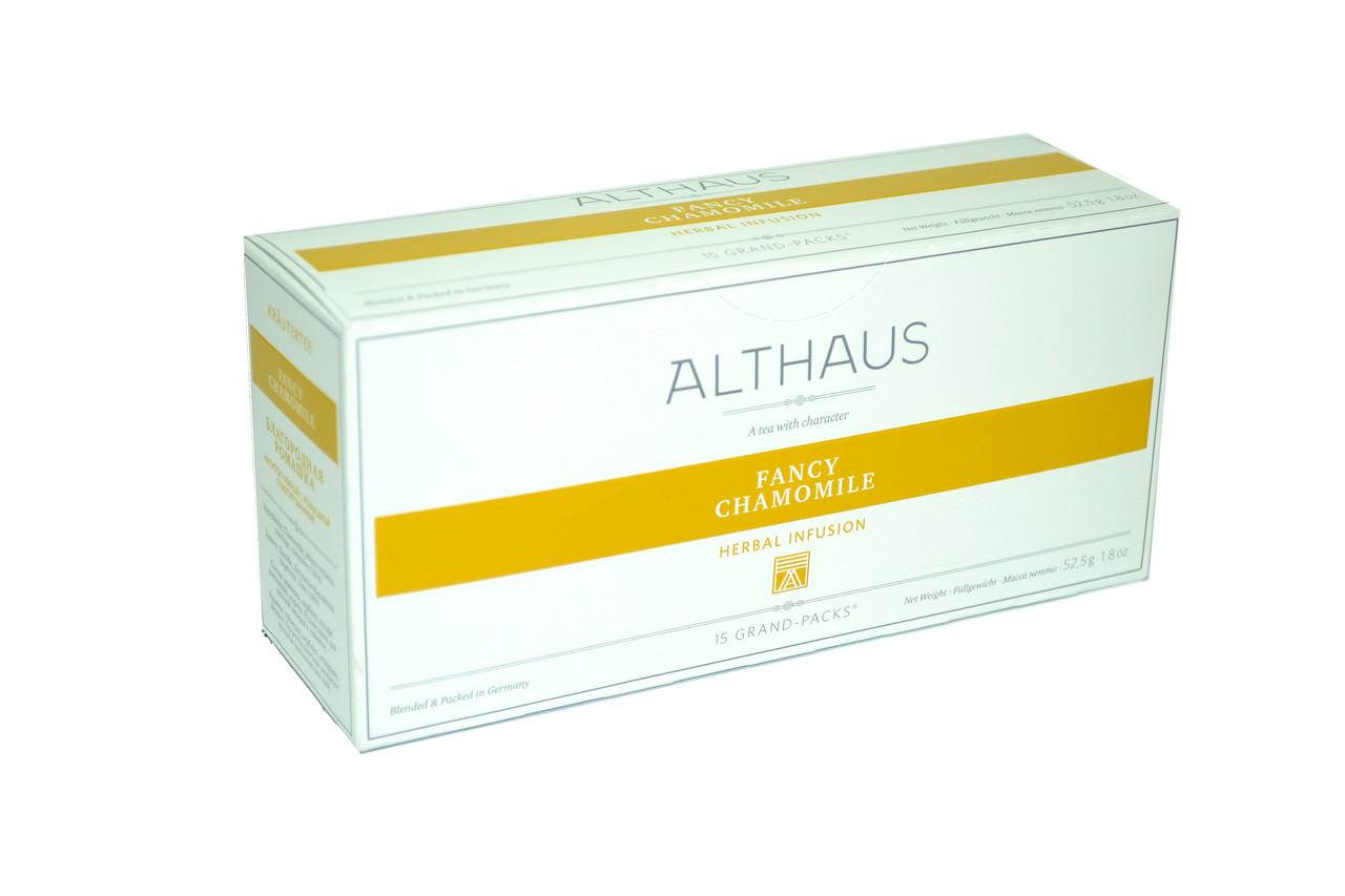 Чай Althaus Grand Packs Fancy Camomile 15x3,5g(10)