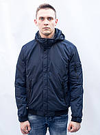 Куртка мужская весенне-осенняя на синтепоне спортивная классика демисезонная