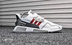Мужские кроссовки Adidas Equipment White Red (реплика)