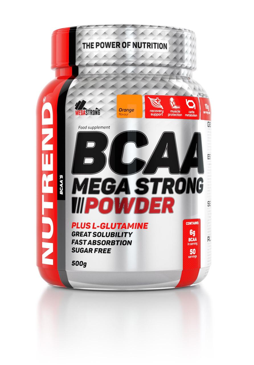 Аминокислоты Nutrend BCAA Mega Strong Powder 500 g