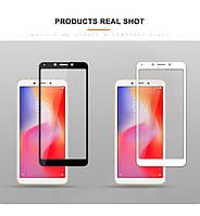 Защитное стекло для Xiaomi Redmi 6a (чёрное, белое, золотистое)