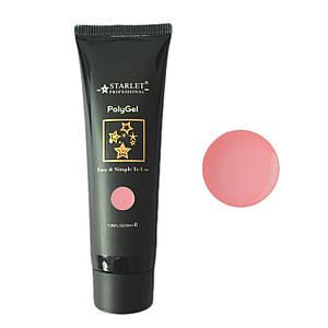 Акрил-гель Starlet №04 - камуфляжный, dark pink, 30 мл