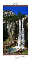 Инфракрасный настенный обогреватель картина Водопад