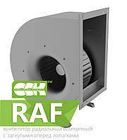 Вентилятор радиальный компактный с вперед назад лопатками RAF