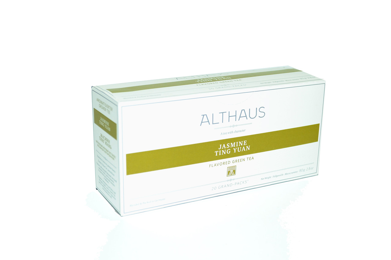 Чай Althaus Grand Packs Jasmine Ting Yuan 20x4g(10)
