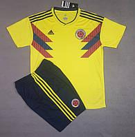 Футбольная форма национальной сборной Колумбия желтый  сезон 2018, фото 1