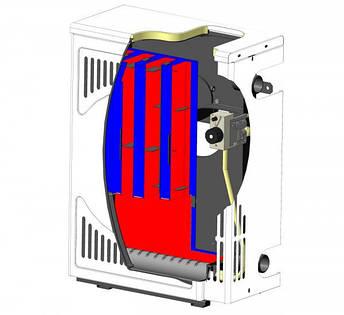 Парапетный газовый котел Маяк АОГВ 10ПВ двухконтурный, фото 2