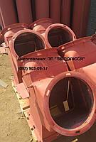 Клапан перекидной двухсторонний ручной д. 300 45°