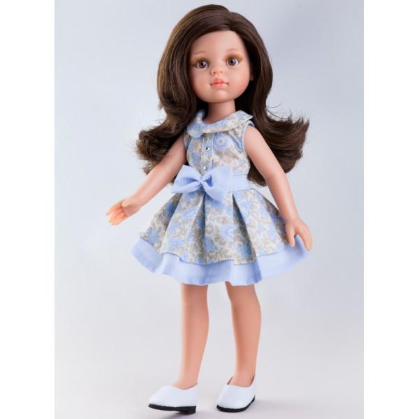 Кукла Кэрол в голубом платье 32 см Paola Reina 04407
