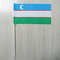 """Флажок """"Узбекистан""""   Флажки СНГ   Флажки Азии  , фото 1"""