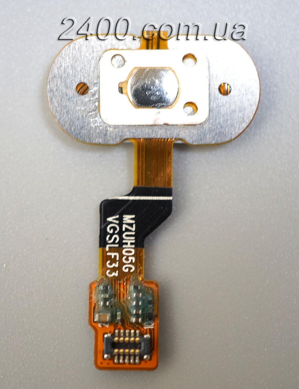Cенсорная кнопка для смартфона Meizu M3s черная, кнопка меню мейзу м3с