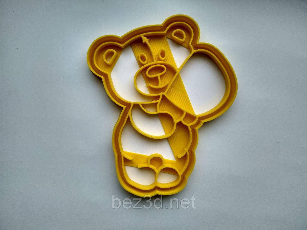 """3D формочки-вырубки для пряников """"Мишка 10"""""""