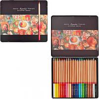 Карандаши цветные Marco Renoir 24 цвета FineART-24TN