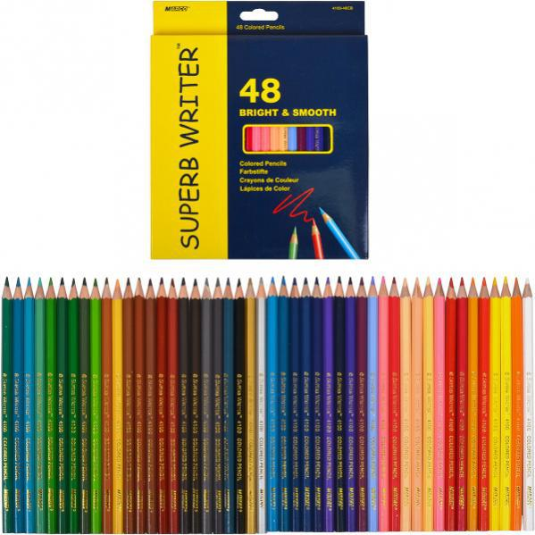Карандаши цветные Marco Superb Writer 48 цветов 4100-48CB