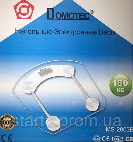 Весы напольные Domotec 2003B , фото 2