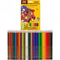 Карандаши цветные Marco Пегашка 36 цветов 1010-36CB с бесплатной доставкой
