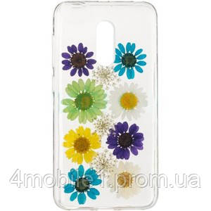 Natural Flowers Case for Xiaomi Redmi Note 4x Red - 4mobile в Умани