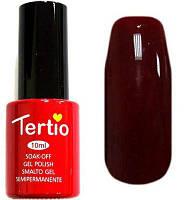 Гель-лак Tertio, 10 мл, №7 сливовый