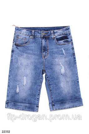 Мужские джинсовые шорты! 29 30 31 32 33 34 36 38, фото 2