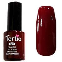 Гель-лак Tertio, 10 мл, №11 темно-красный