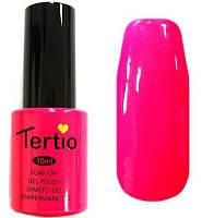 Гель-лак Tertio, 10 мл, №15 ярко-розовый