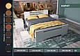 """Кровать деревянная """"Карат"""" 1,4 сосна, фото 3"""