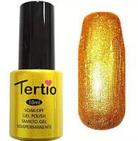 Гель-лак Tertio, 10 мл, №21 золото микроблеск