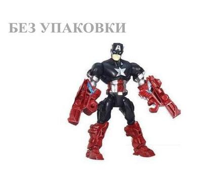 """Разборная фигурка Капитан Америка """"Машерс"""" - Captain America, Mashers, Hasbro"""