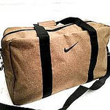 Спортивные дорожные сумки Nike (синий джинс)30*50, фото 2