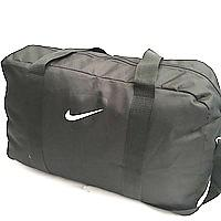 Спортивные дорожные сумки Nike (черный с разными накатками)30*50