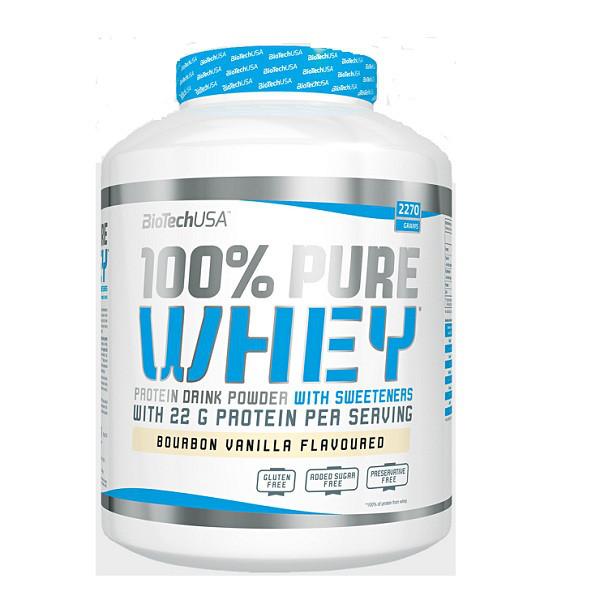 Протеин Biotech USA 100% Pure Whey (2.27 kg)