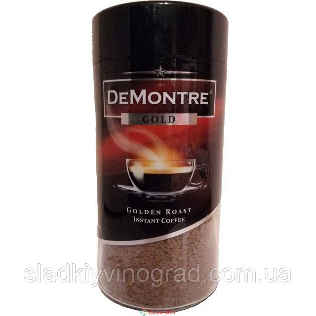 Кофе растворимый DeMontre Gold 200 г (Польша)