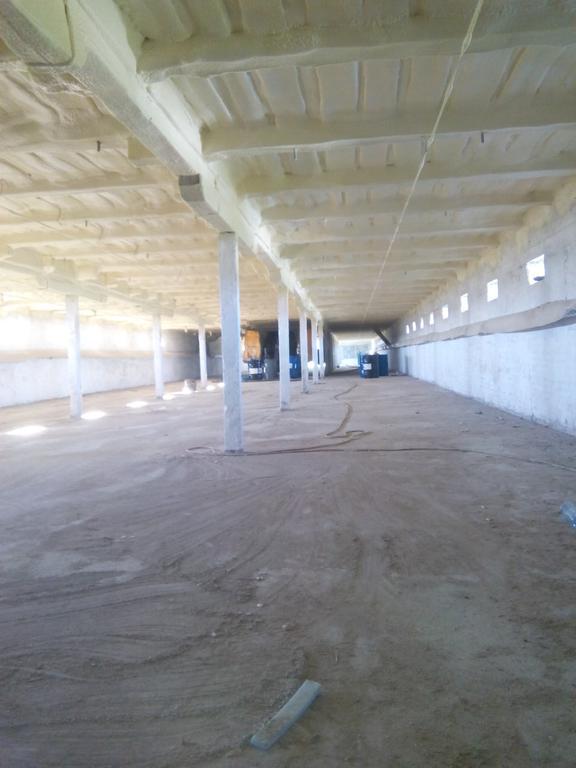 птицекомплекс - изоляция потолка.