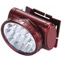 Налобный фонарь YJ-1898 LED на аккумуляторе, фото 1