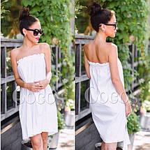 Платье летнее без бретелек, фото 2