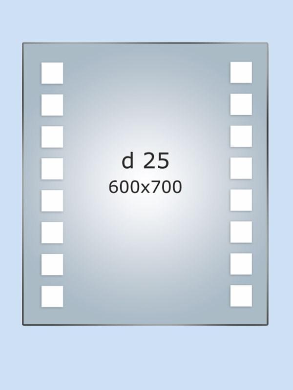 Зеркало LED (60*70*3см) PR-D25