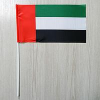 """Флажок """"Объединенные Арабские Эмираты"""" / """"ОАЭ""""   Флажки Азии  , фото 1"""