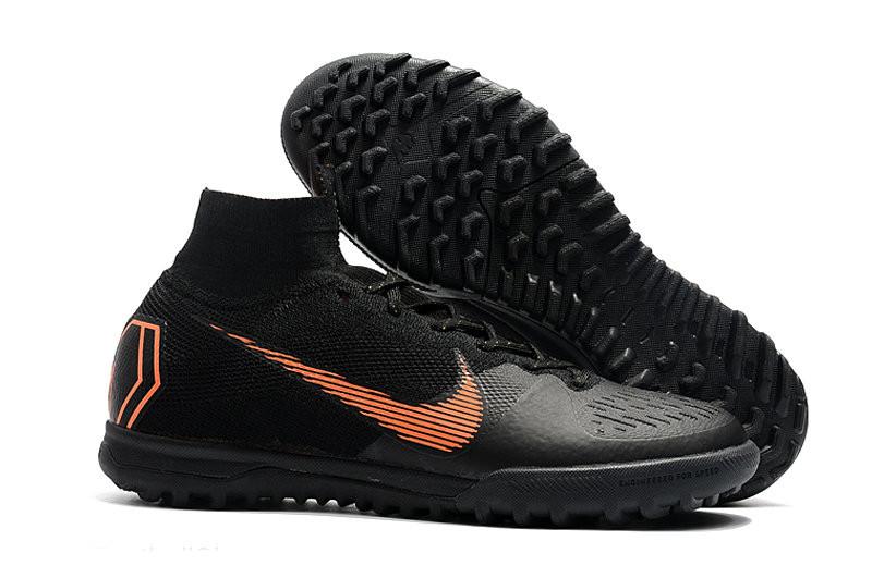 Сороконожки Nike MercurialX Vapor XII Elite TF Black