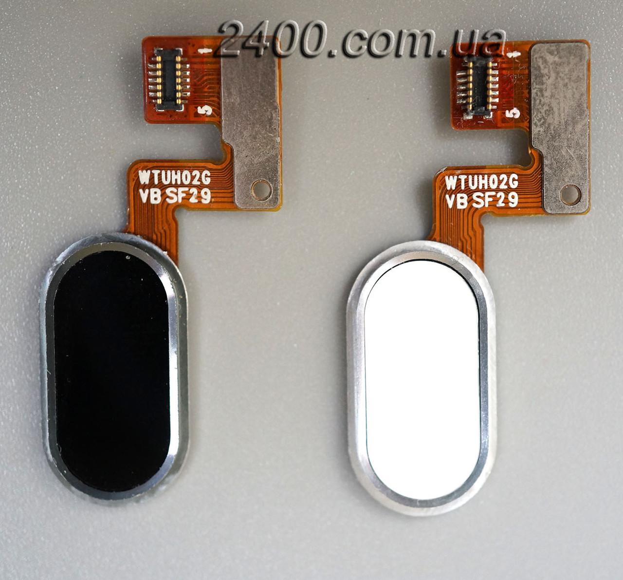 Cенсорная кнопка для Meizu M3 Note черная (белая) – кнопка меню мейзу м3 ноте